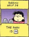 Rabbi is in