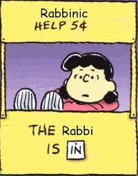 Rabbi is in