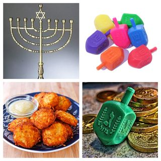Chanukah collage
