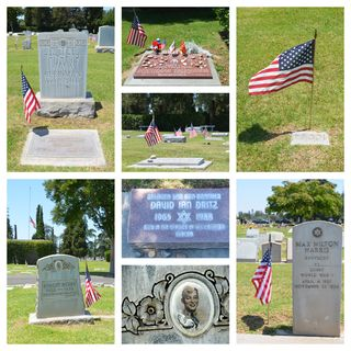 Memorial Day at TBI Cemetery