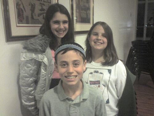 Leah, Mara & Max