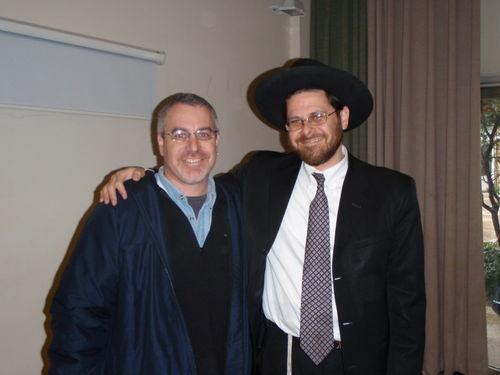 Rabbi Rick & Rabbi Menashe Bleiweiss