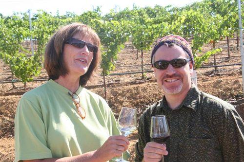 Carolyn Wente & Rabbi Rick