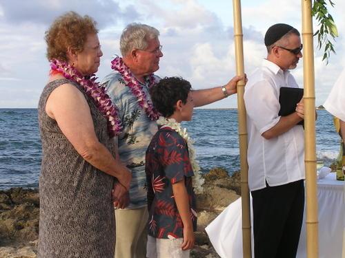 Family Wedding on Oahu