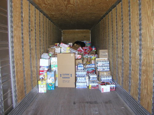 Truck Full of Supplies
