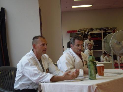 Sensei Morgan & Kiyoshi Haley
