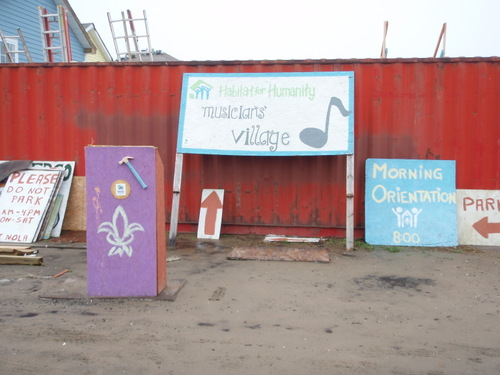 Musician's Village Orientation Spot